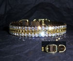 Fancy Crystal Dog Collars, rhinestone dog collars, cat collars, Swarovski Crystal Pet Collars