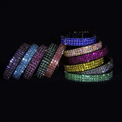 Star Diamonds Crystal Pet Collar