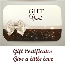 Dog Collar Fancy Gift Certificates