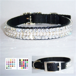 My Precious Pearl Jeweled Pet Collar