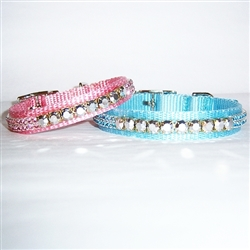 Bling Dog and Cat Collars   The Latest Luxury Dog Beds