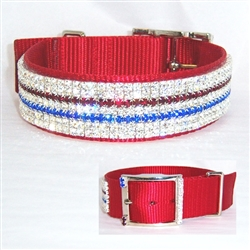 Patriotic Dog Collars Cat Collars Ferret Collars
