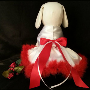 Mrs Santa Dog Dress