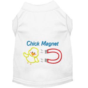 Chick Magnet Dog Shirt
