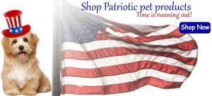 Patriotic dog collars Patriotic dog shirts